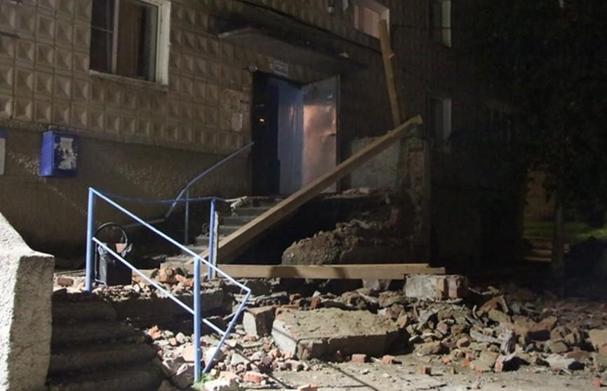 На Урале частично обрушилась пятиэтажка