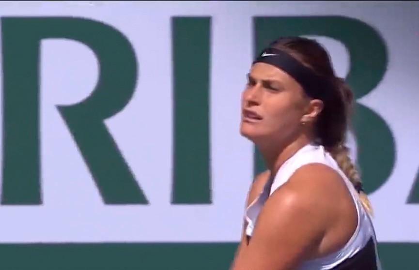 Девятая ракетка мира белоруска Арина Соболенко успешно стартовала на теннисном турнире в Индиан-Уэллсе