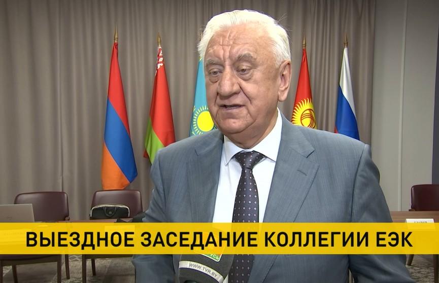 Мясникович: Санкции только создают условия для подъема национальных экономик
