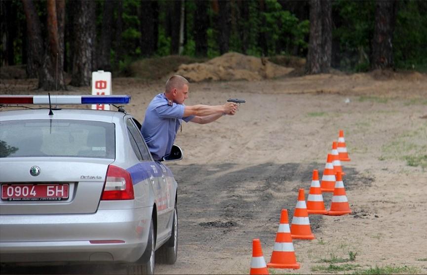 Конкурс профессионального мастерства среди сотрудников ДПС прошёл в Минске