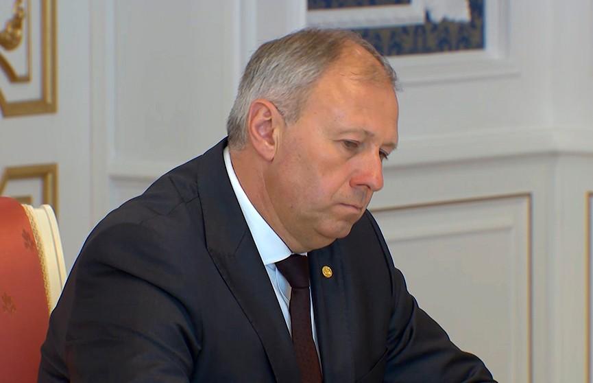 Премьер-министр Беларуси будет нести персональную ответсвенность за наращивание экспорта белорусских товаров и услуг