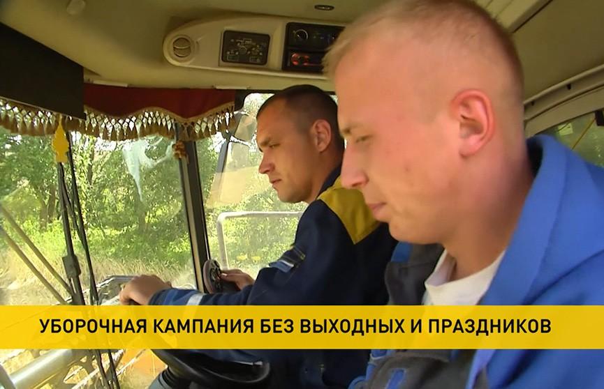 Уборочная-2020: экипаж «двухтысячников» появился в Витебской области