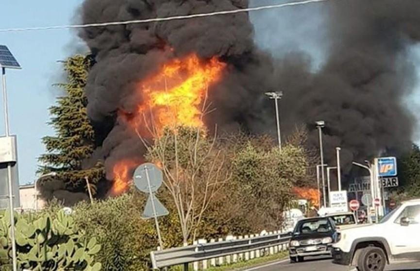 Взрыв произошёл на автозаправке в Италии
