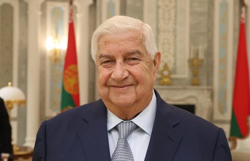 Сирия будет отдавать приоритет белорусским компаниям, желающим участвовать в восстановлении и развитии страны