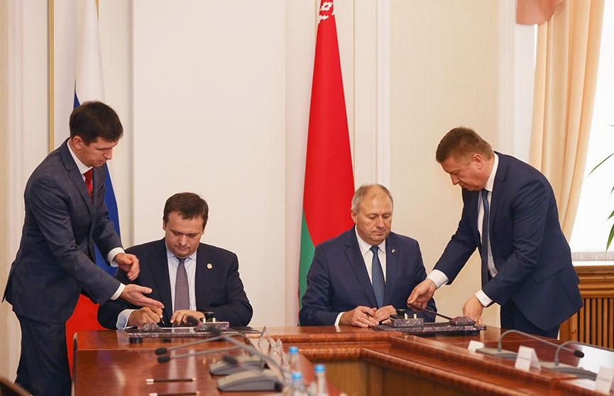 Беларусь и Новгородская область подписали совместную программу действий на три года