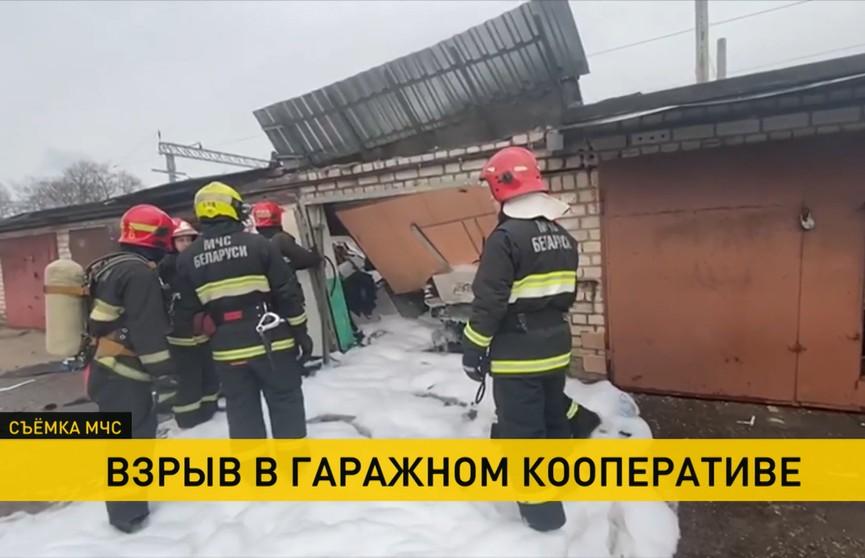В одном из столичных гаражных кооперативов произошел взрыв
