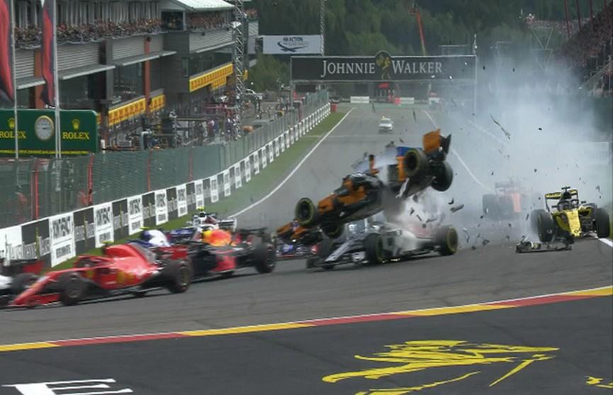 Формула 1: Себастьян Феттель выиграл гонку гран-при Бельгии