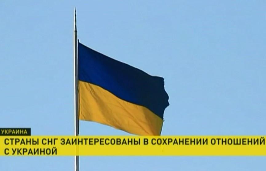 Сергей Лебедев: Страны СНГ заинтересованы в сохранении отношений с Украиной