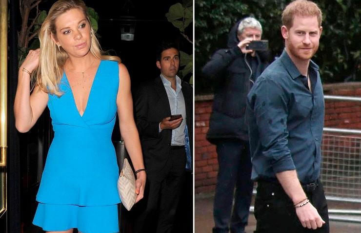Принц Гарри встретился с бывшей возлюбленной, пока Меган Маркл была в Канаде