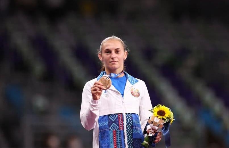 Белоруска Ванесса Колодинская завоевала бронзовую медаль на Олимпиаде