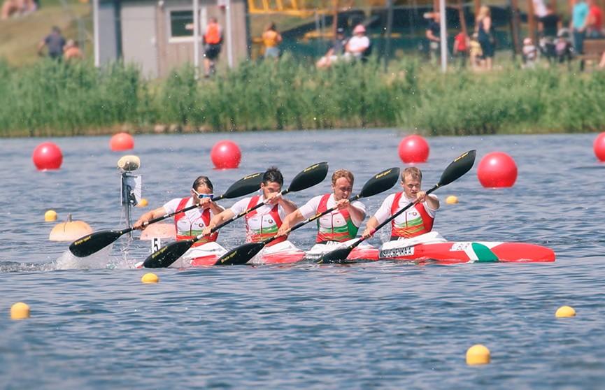 Еще две медали выиграли белорусские гребцы на чемпионате Европы в Познани