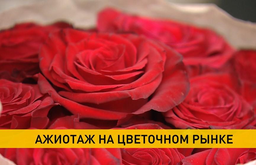 В преддверие 8 Марта мужчины спешат купить цветы: какие букеты выбирают?