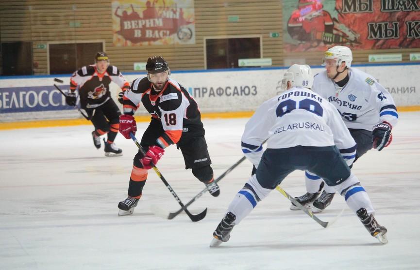 Чемпионат Беларуси по хоккею: сегодня состоятся три матча