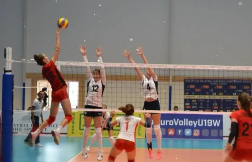 Волейболистки молодёжной сборной Беларуси одержали первую победу на чемпионате Европы в Албании