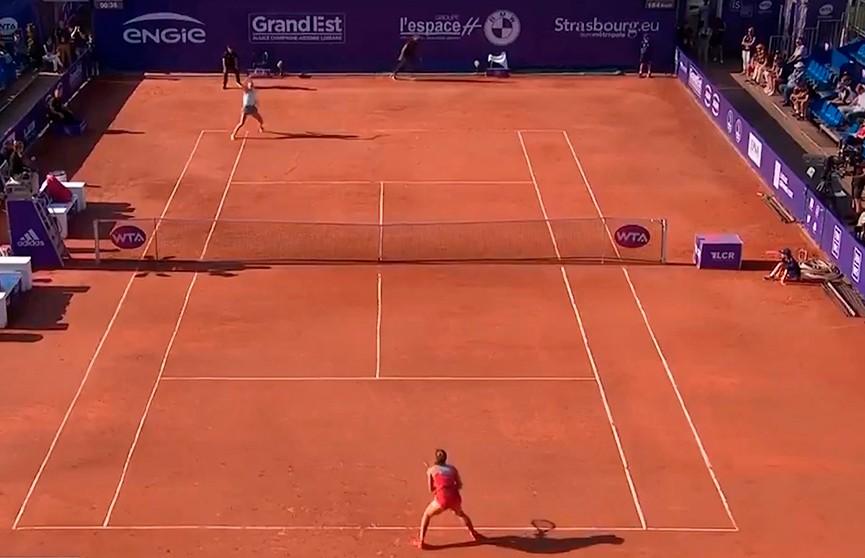 Арина Соболенко готова к полуфинальному поединку на турнире в Страсбурге