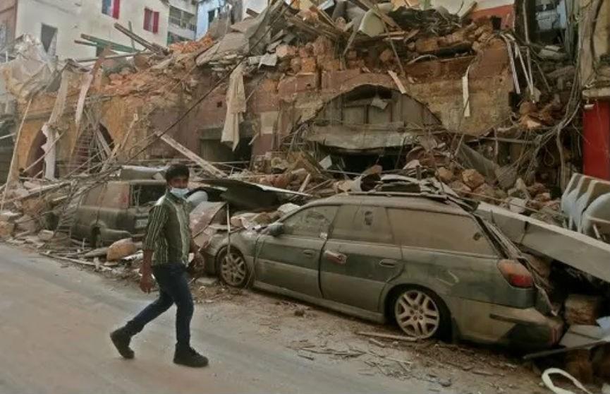 Власти Ливана: причиной взрыва в Бейруте могло быть вмешательство извне