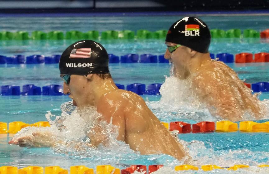 Илья Шиманович стал серебряным призёром чемпионата мира по плаванию на короткой воде