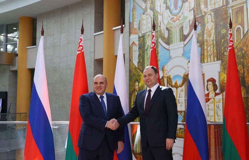 Визит Мишустина в Минск: что обсуждали на встрече с Лукашенко и о чем договорились главы наших правительств