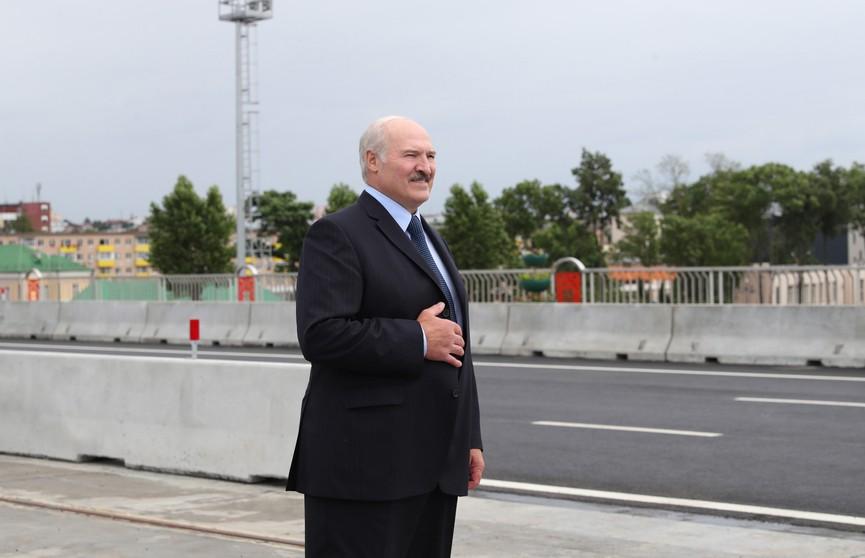 Александр Лукашенко с рабочей поездкой посещает Витебскую область