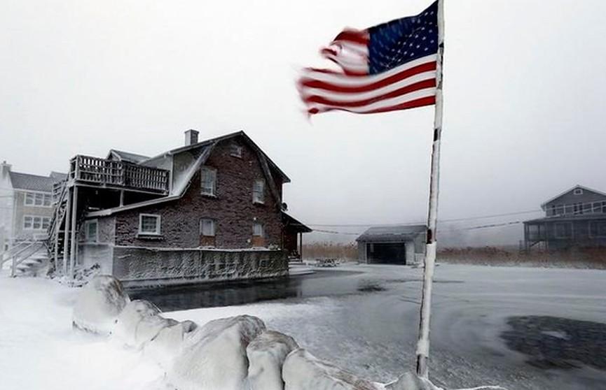 Аномальные морозы в США: в Миннесоте температура воздуха опустилась до -56°С