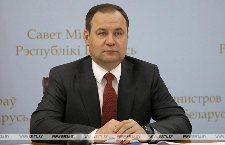 Головченко: Комплекс мер в ответ на западные санкции готов