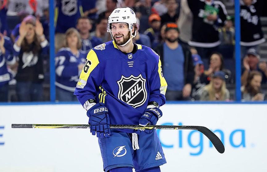 Хоккеист Никита Кучеров лидирует в рейтинге бомбардиров НХЛ