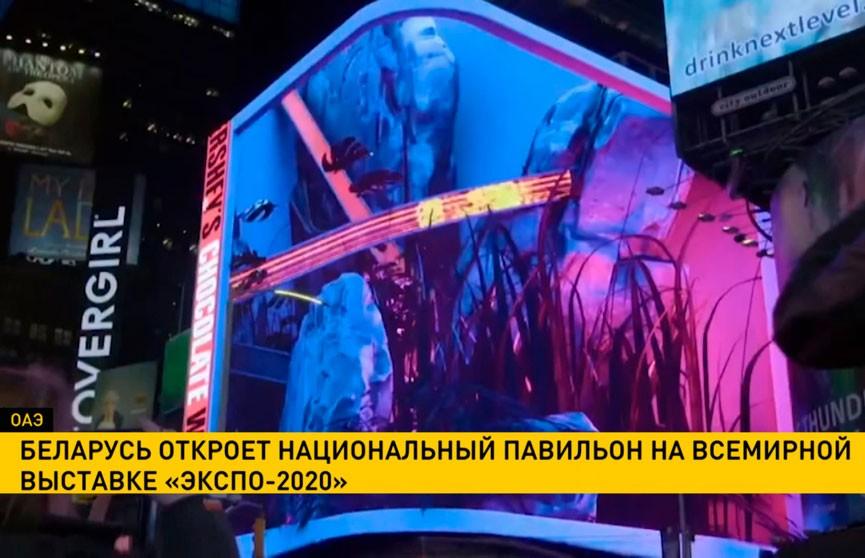 Беларусь откроет национальный павильон на всемирной выставке «ЭКСПО-2020»