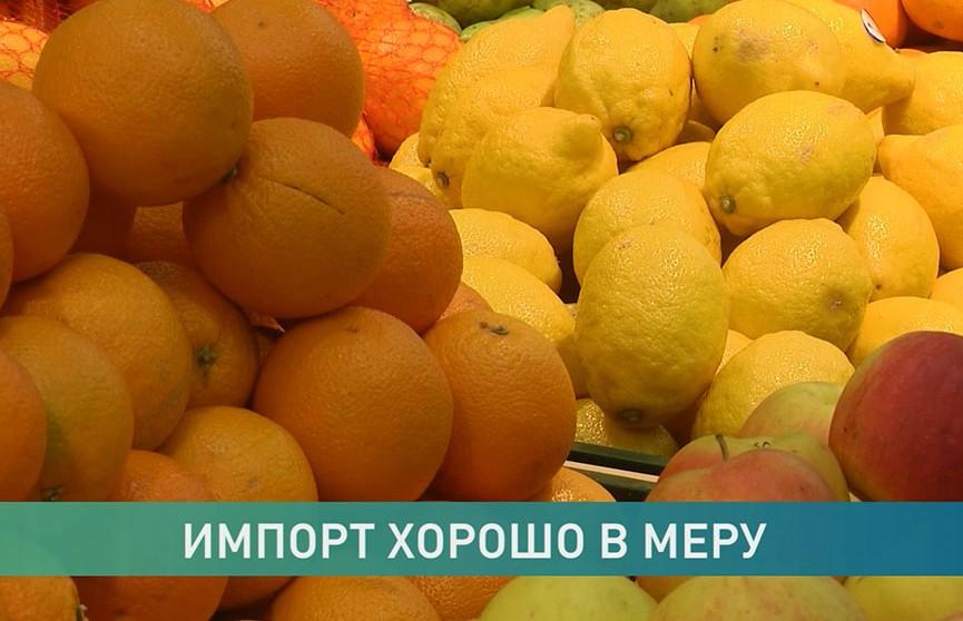 Импортных продуктов в белорусских магазинах станет меньше