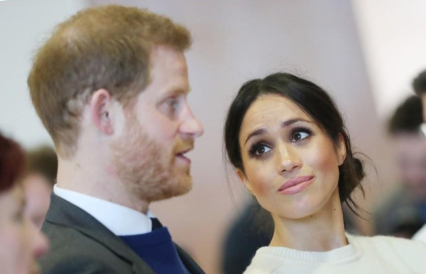 Меган Маркл довела принца Гарри до облысения