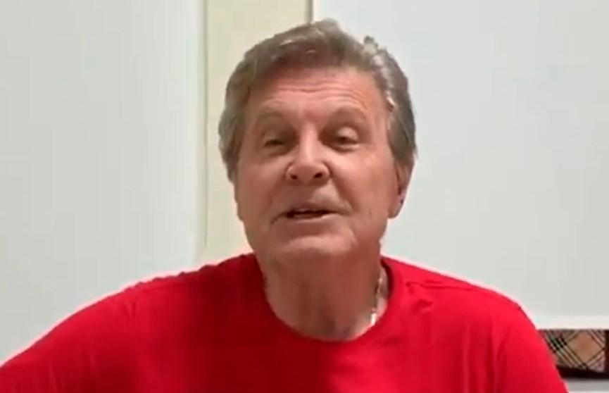 Заразившийся COVID-19 Лещенко обратился к поклонниками из больничной палаты