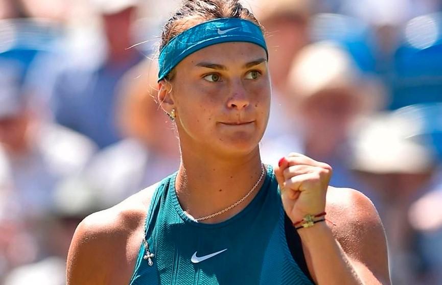 Арина Соболенко поднялась на девятое место в рейтинге WTA