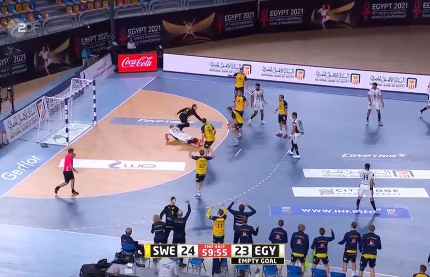 Сборная Беларуси по гандболу проиграла команде Словении