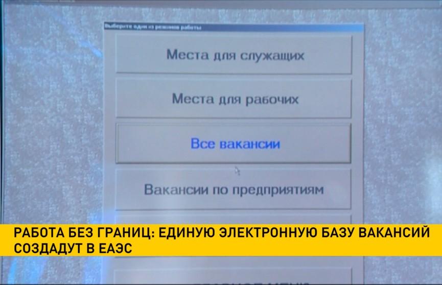 Разместить резюме для работодателей из пяти стран: единую электронную базу вакансий создадут в ЕАЭС