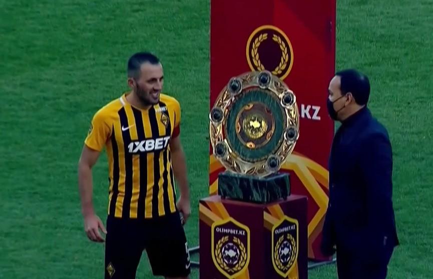 ФК «Кайрат» стал чемпионом Казахстана по футболу