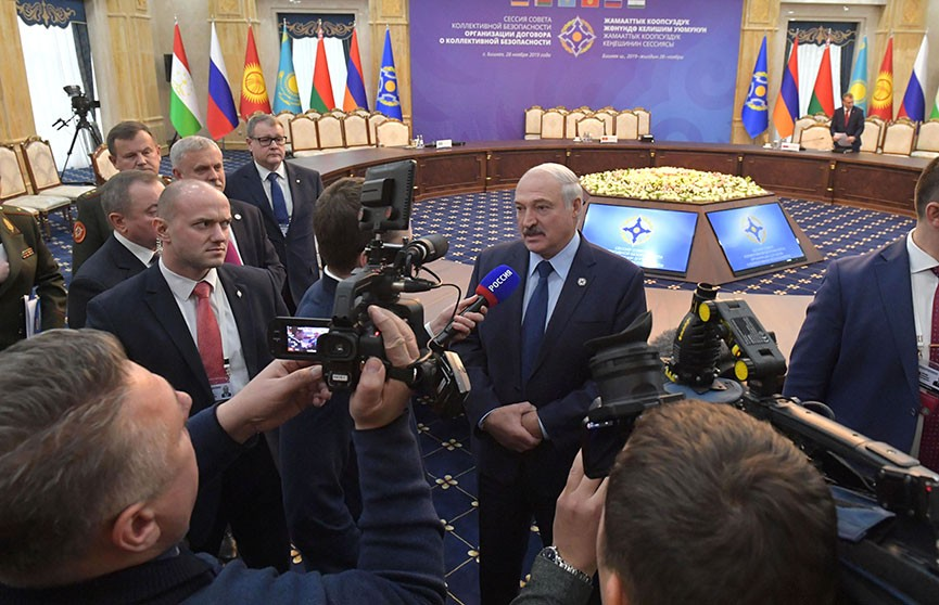 Лукашенко: ОДКБ – одна из серьезных организаций, которая будет способствовать стабилизации ситуации в мире