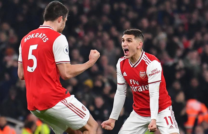 «Арсенал» обыграл «Манчестер Юнайтед» в центральном матче тура чемпионата Англии