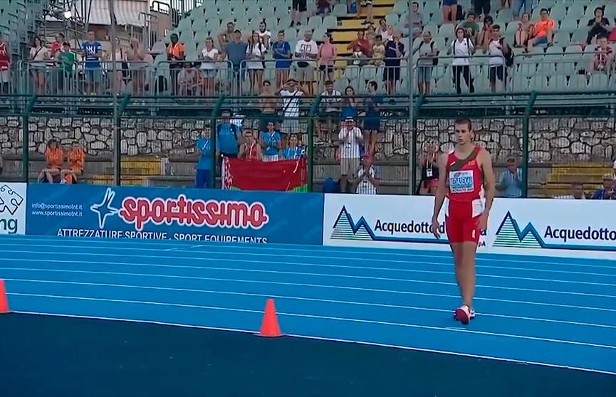 Максим Недосеков занял второе место на легкоатлетическом турнире в Китае