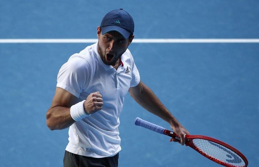 Россиянин Аслан Карацев вышел в полуфинал Australian Open