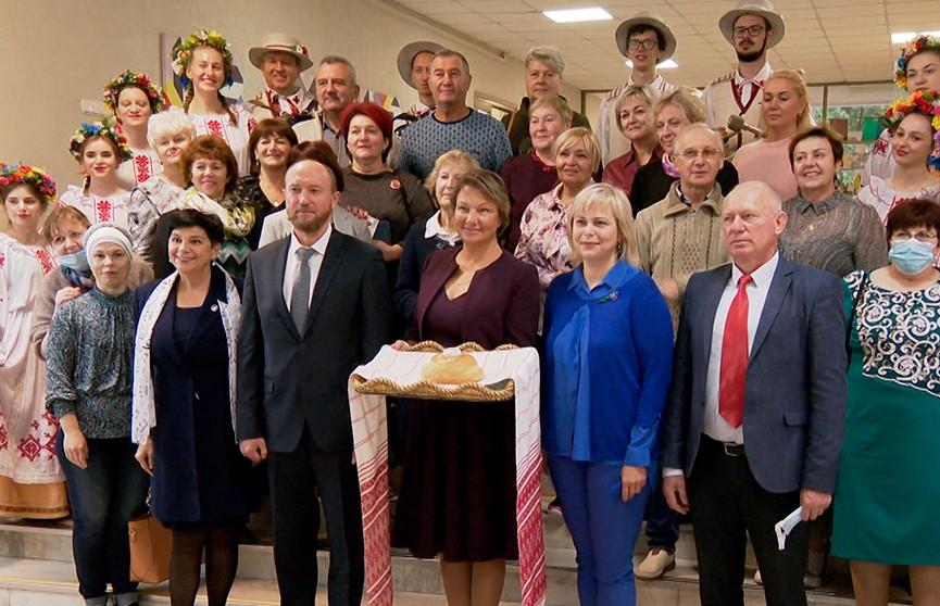 Делегация белорусской диаспоры Латвии приехала в Минск