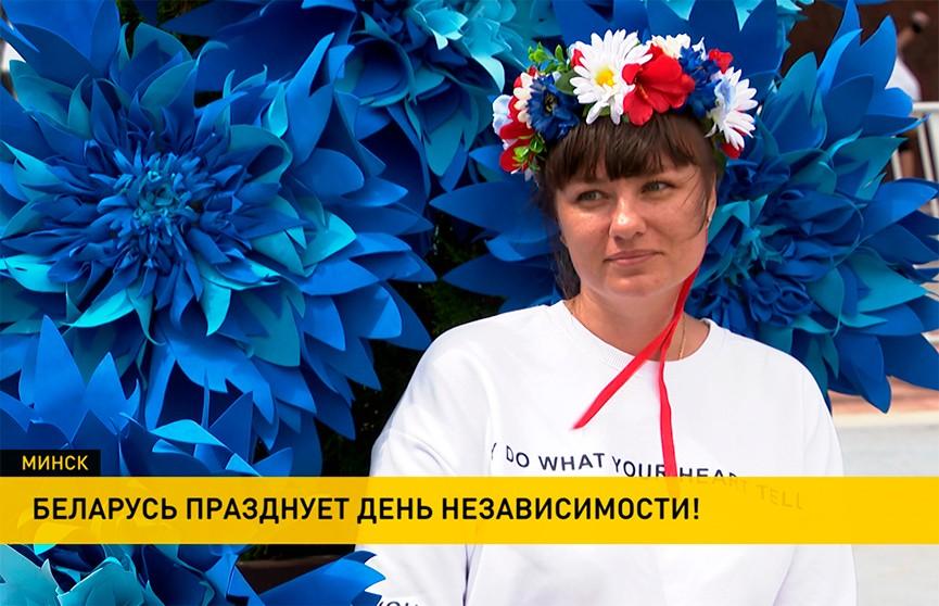 Ярмарки, выставки военной техники, солдатская каша и концерты: белорусы отметили День Независимости