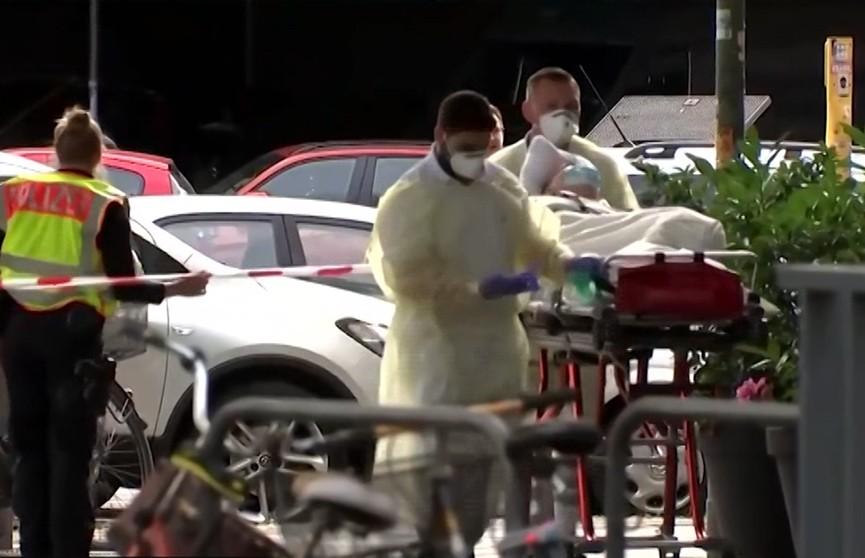 Неизвестные напали на банк в Берлине
