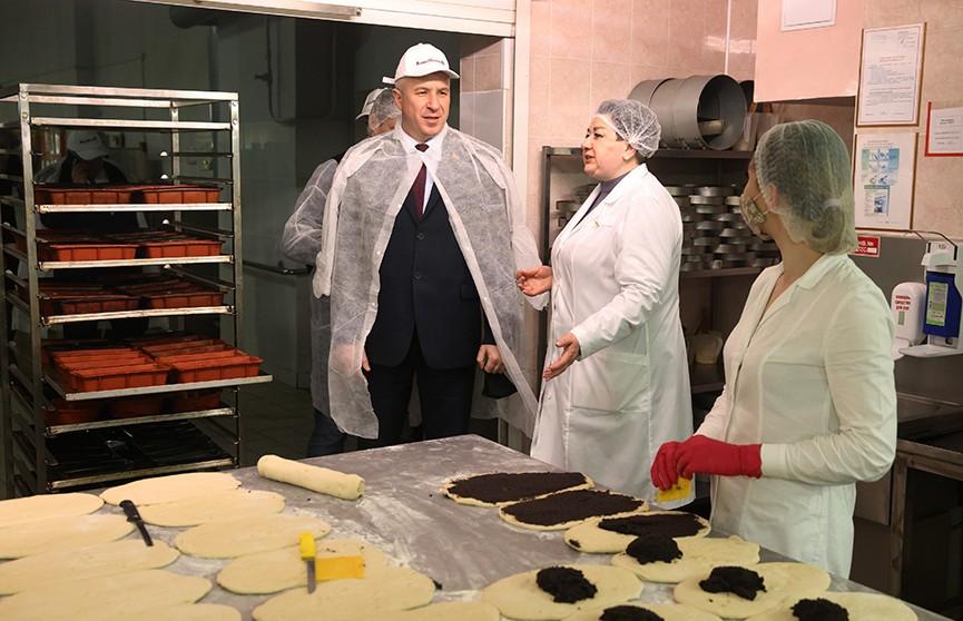 Помощник Президента Юрий Караев посетил «Гроднохлебпром»