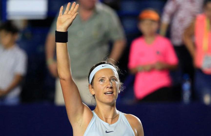 Виктория Азаренко стала финалисткой турнира в Монтеррее