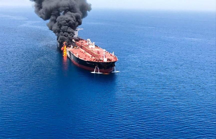 Пожары на танкерах в Оманском заливе ликвидированы
