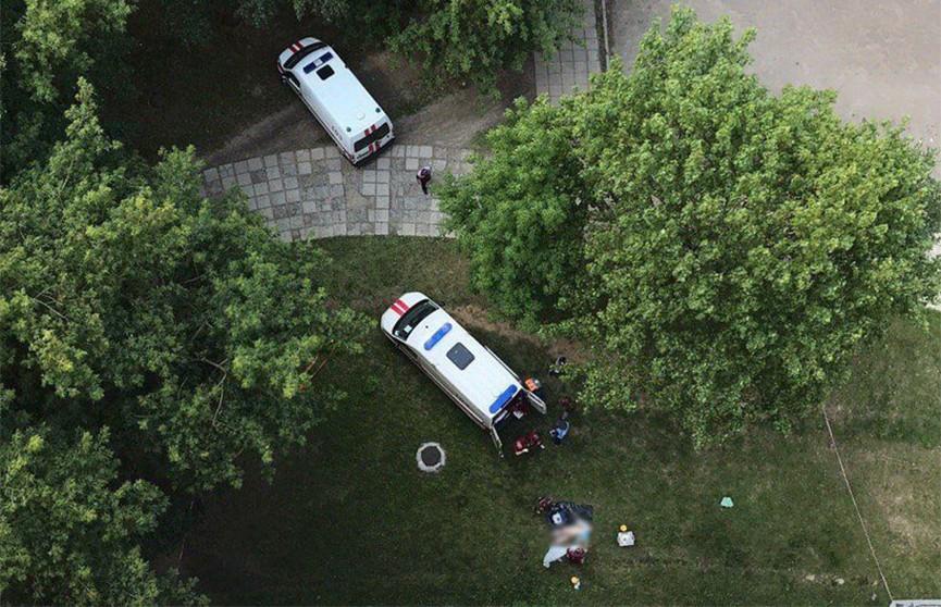 Из окна общежития МГЛУ в Минске выпала женщина