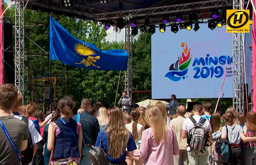Награды и подарки  вручили лучшим волонтерам II Европейских игр