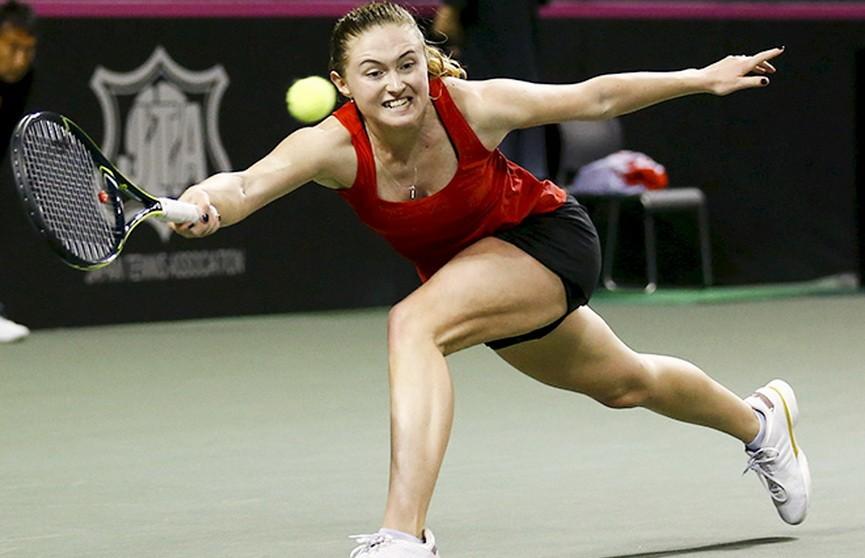 Александра Саснович вышла в третий круг Уимблдона