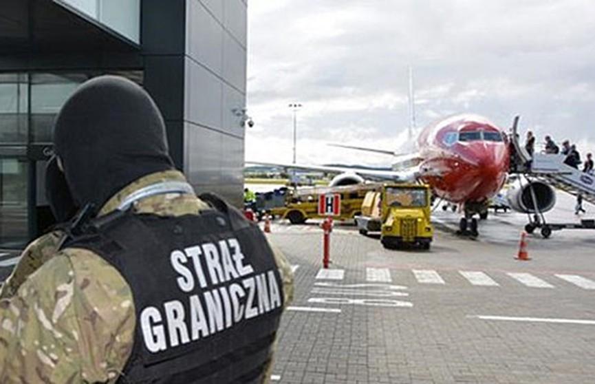 В Польше обыскали 21 самолёт из-за сообщений о минировании