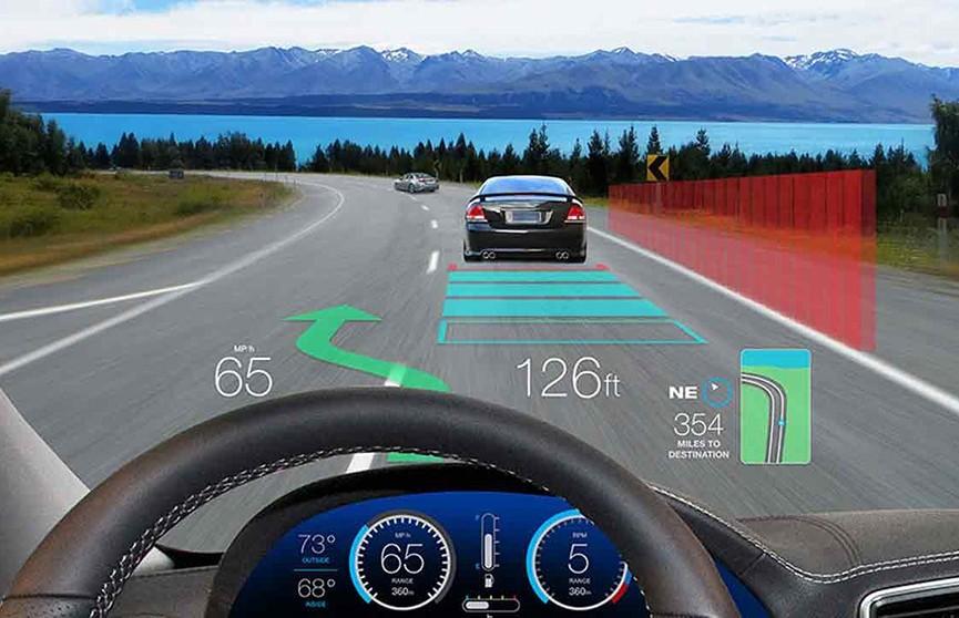 Apple хочет создать ветровое стекло для автомобилей с дополненной реальностью