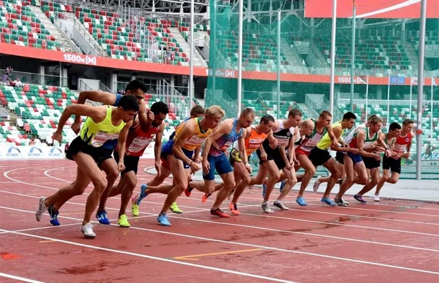 Более 400 спортсменов участвовали в открытом чемпионате Беларуси по лёгкой атлетике